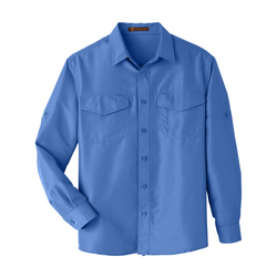 Men's Key West Long-Sleeve Performance Staff Shirt