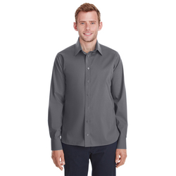 Men's Crown Collection™ Stretch Broadcloth Untucked Shirt