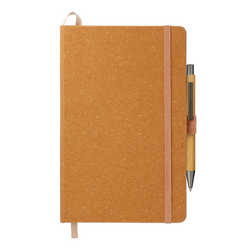 "5.5"" x 8.5"" Recycled Leather JournalBook Bundle Set"