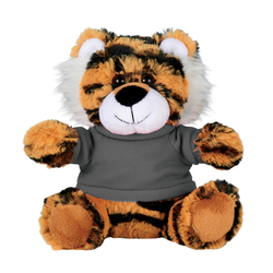 "6"" Plush Tiger with Shirt"