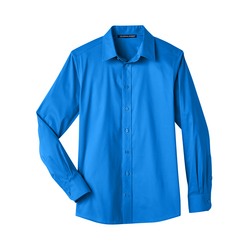 Men's Crown Collection™ Stretch Broadcloth Slim Fit Shirt