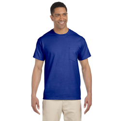 Adult Gildan Ultra Cotton Pocket T-Shirt