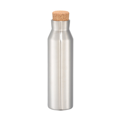 Norse Copper Vacuum Insulated Bottle with Faux Cork, 20oz