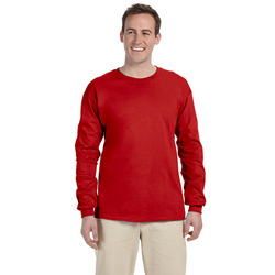 Adult Fruit of the Loom® Cotton Long-Sleeve T-Shirt