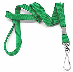 "3/4"" Silkscreened Tubular Lanyard"