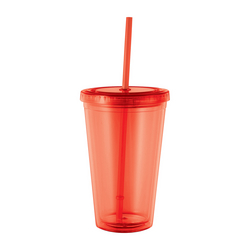 16 oz Cyclone Tumbler with Straw