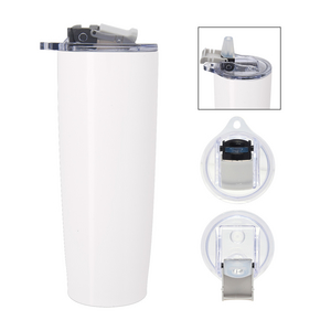 25 oz. Pop 'n Sip Stainless Steel Tumbler